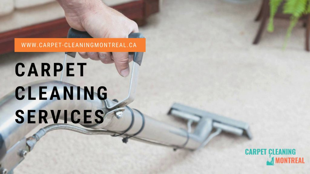 Carpet Cleaning Service Montreal