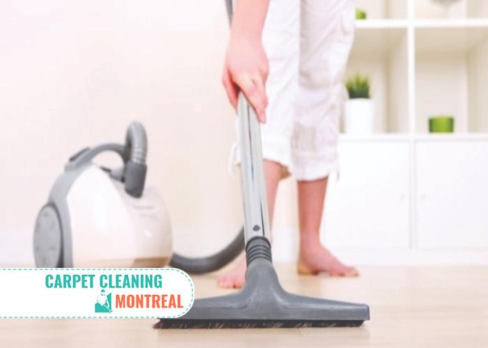 Deep Carpet vacuuming