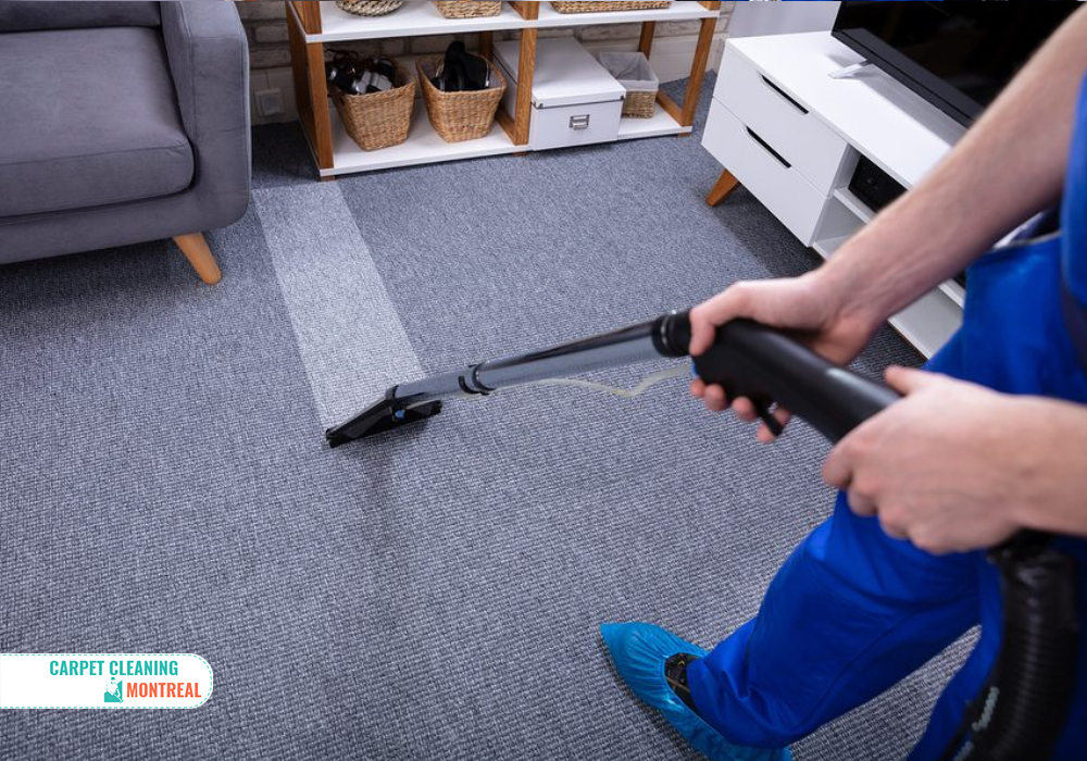 Montreal Carpet Cleaning professional