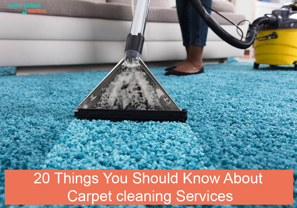 20 Things You Should Know About Carpet cleaning Services