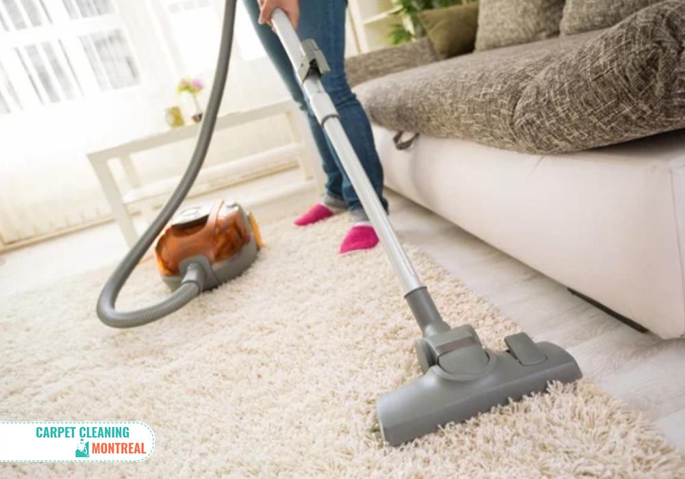Vacuuming of Dusty Carpet